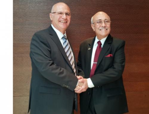 Πρόεδρος του International Road Federation ο κ. Β. Χαλκιάς για τα επόμενα τρία χρόνια.