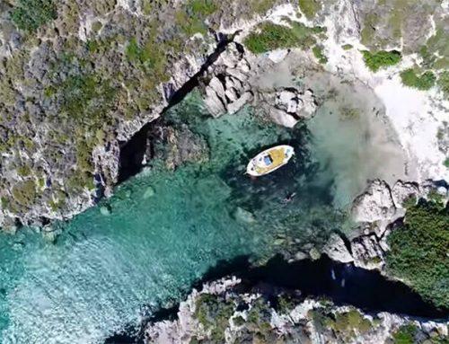 Η πριβέ παραλία στην Μονεμβασιά με τα εξωτικά νερά